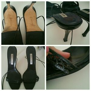 Manolo Blahnik Shoes - |SALE| Lace Up Manolo Blahnik's