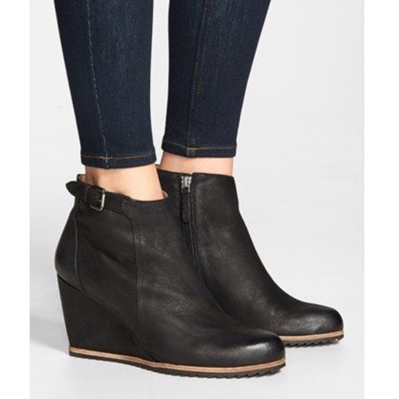 a71cff366c5 Biala Shoes - Biala Nordstrom Leather Wedge Booties
