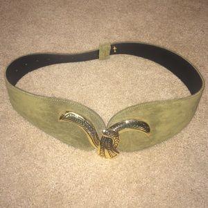 Accessories - Vintage Olive green belt | Size: One Size