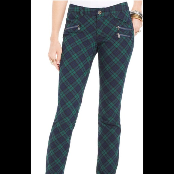 Green and Blue Scot Punk Plaid Skinny Pants XS from Neo's closet ...