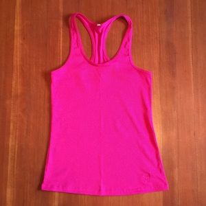 Under Armour Tops - Under Armour Hot Pink Racerback Tank