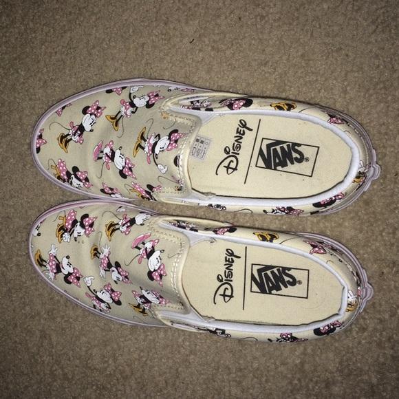 minnie vans shoes
