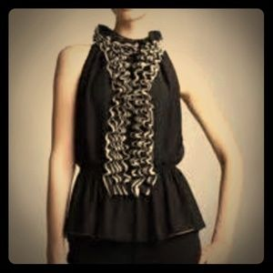 Robert Rodriguez ruffle top