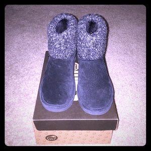 LAMO Shoes - Black LAMO Water Resistant Suede Boots