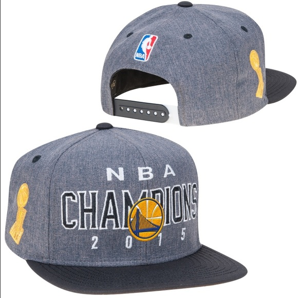 Warriors Adidas NBA Champs hat! 💛 d32cec6db67