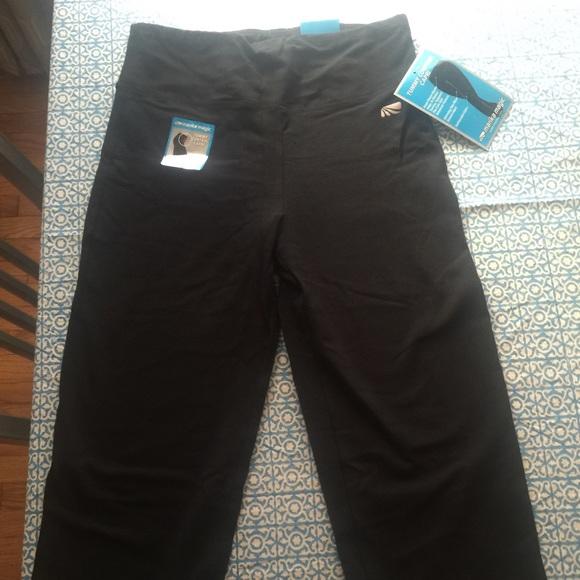 cb24e7229bb6 Marika Magic Slim Tummy Control Black Leggings L. Listing Price: $8.00.  Your Offer