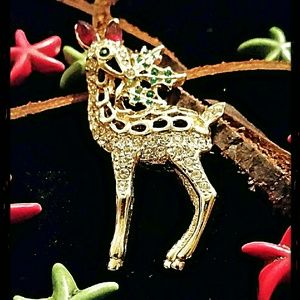 bloomingdales Jewelry - Vintage  bloomingdales Christmas brooches