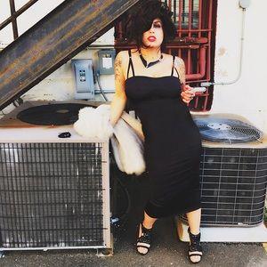 Dolce & Gabbana Dresses & Skirts - DOLCE & GABBANA BLACK HOLIDAY DRESS IT 40 S 4