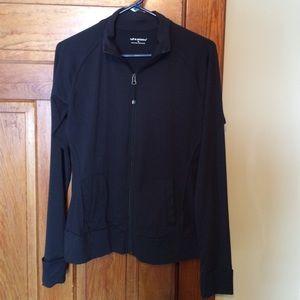 Off White Medium Tuff Athletics Women's Asymmetric Full Zip Fleece Jacket