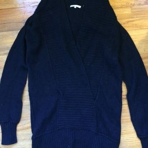 Vince navy blue hooded sweater