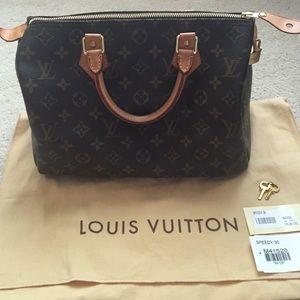 Louis Vuitton Handbags - Mint condition LV speedy 30