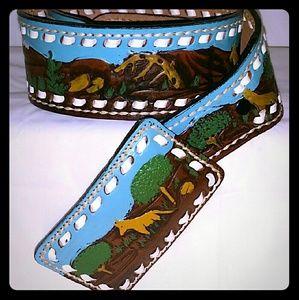 Vintage Cowboy Belt