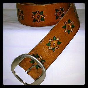Vintage Handmade Cowboy Belt