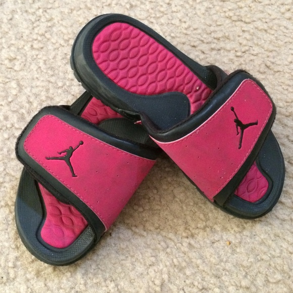 ... Vivid PinkWhiteBright  fast delivery 5cd86 59463 pink and black jordan  sandals  genuine shoes 93917 ee3ad jordan sandals 2015 ... 555ef000b