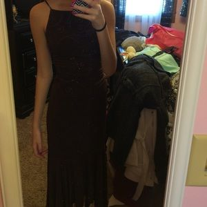Jodi Kristopher Dresses & Skirts - A brown homecoming or prom dress