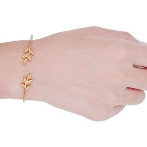 Jewelry - 👍Host Pick👍Gold leaves bracelet & bangle