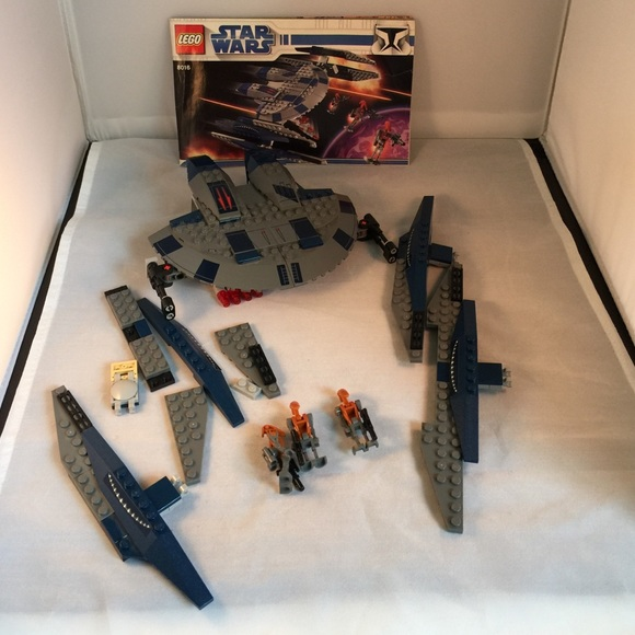 Lego Star Wars Set 8016 Instructions User Guide Manual That Easy