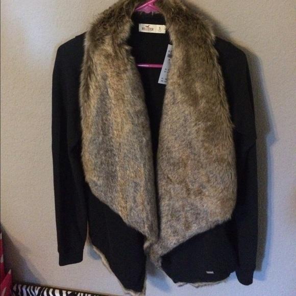 hollister faux fur