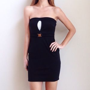| new | belted bodycon dress