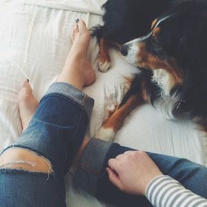 Old Navy Denim - Distressed Boyfriend Jeans