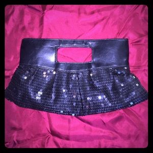 Macy\u0026#39;s leather clutch on Poshmark