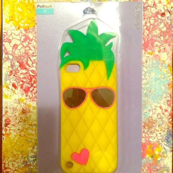 new style 34ddd 1bc55 *BRAND NEW* iPod touch 5 pineapple case NWT