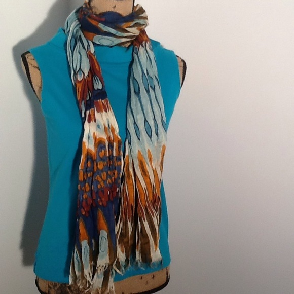 bellissima multi color scarf from suzanne s closet on