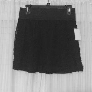 Forever 21 Rosette High Waisted Skirt