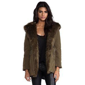 UNIF faux fur jacket