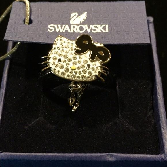 Swarovski Jewelry Hello Kitty Ring Msrp 90 Poshmark