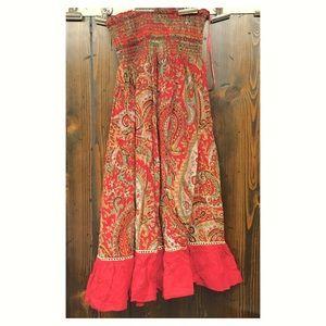 🌻boho multiway dress/skirt🌻
