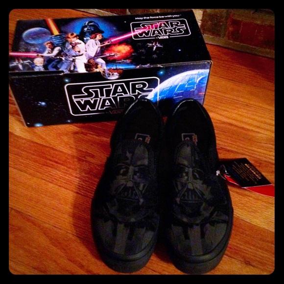 0dc75533f3 Limited Edition Star Wars Darth Vader Vans