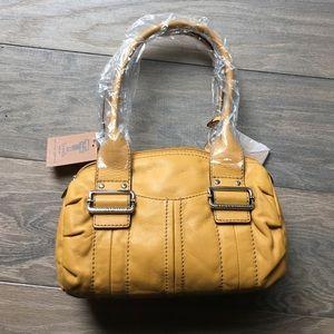 Tignanello Handbags - Tignanello mustard purse NWT