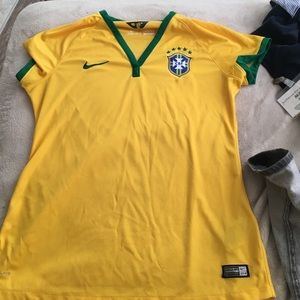 Authentic Brazil Jersey