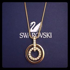 Swarovski Necklace Rose Gold-Tone