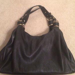 Handbags - Black leather shoulder bag