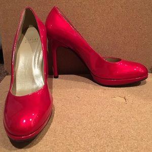 Stuart Weitzman red pumps