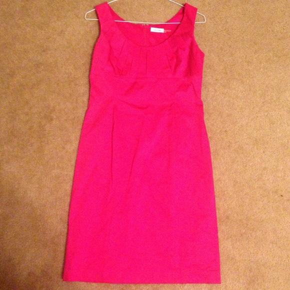 be8950188bdb06 Calvin Klein Dresses   Skirts - Hot pink Calvin Klein sleeveless dress
