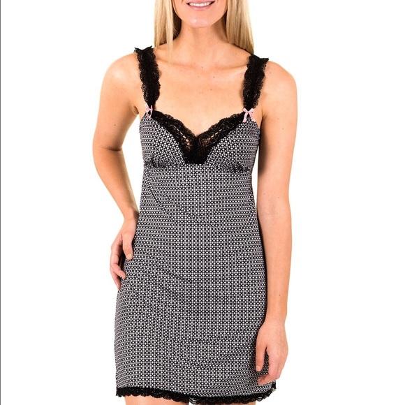 2ccf00044693 Marilyn Monroe Intimates & Sleepwear | Black White Chemise | Poshmark