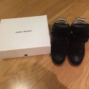 100% authentic Isabel marant black sneakers
