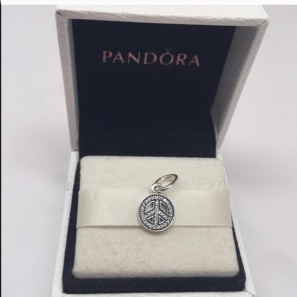Pandora Symbol Of Peace Symbol Charm Poshmark