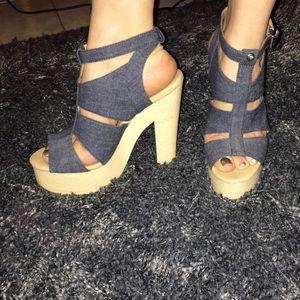 Platform Sandals by Calvin Klein