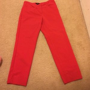 Sale!!!!!! H&m red ankle pants