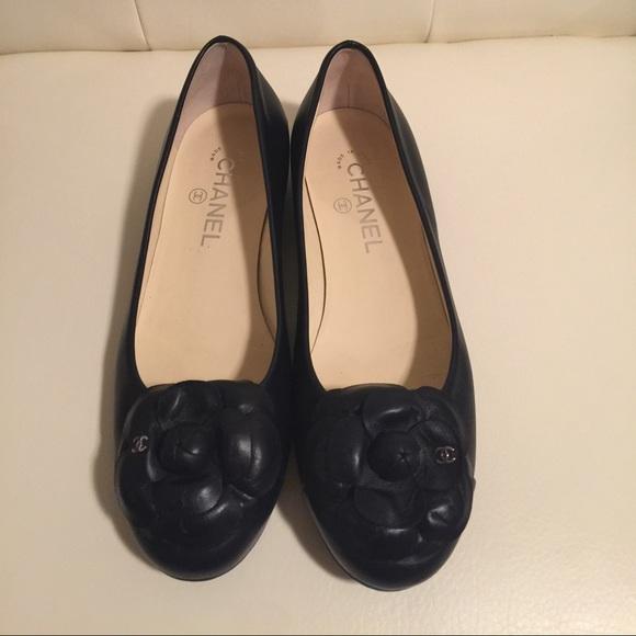 a7d1c89d15f0e CHANEL Shoes - Chanel  Camellia  ballet flats AUTHENTIC