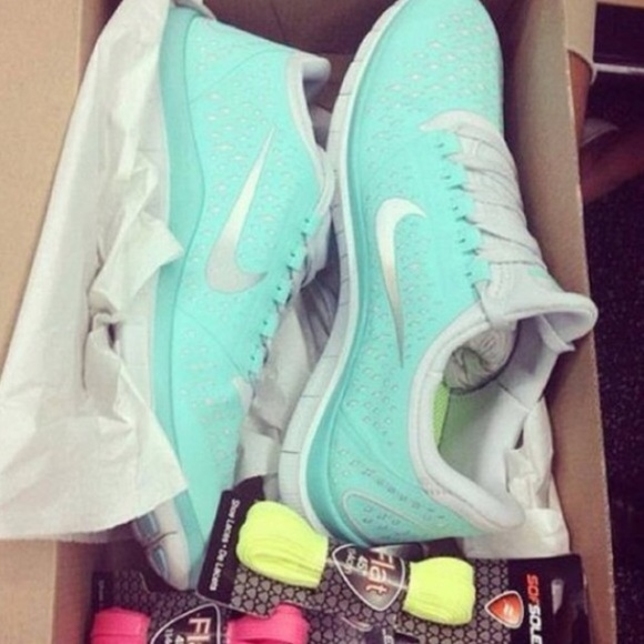Nike Shoes | Tiffany Blue Running With