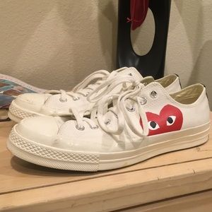 28% off Comme des Garcons Shoes - Cdg x converse 1970s from Kane's closet on Poshmark
