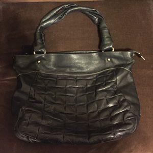 Ellington Handbags - Ellington artisan large Black leather Hobo bag