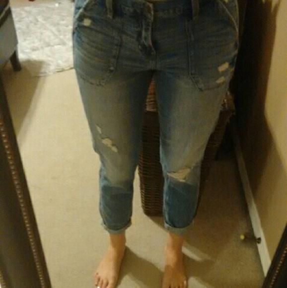 68% off Hollister Pants - Hollister Devin Boyfriend Jeans...Size ...
