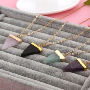 NEW!!! Natural Stone Pendant Necklace