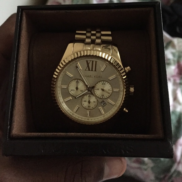 50% off michael michael kors other gold michael kors watch men gold michael kors watch men
